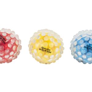 Nystyräisiä palloja, joissa helmiä sisällä